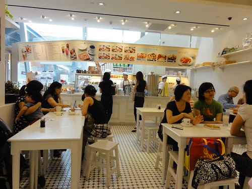 Singaporean Delicacies at Toast Box in Bishan, Singapore