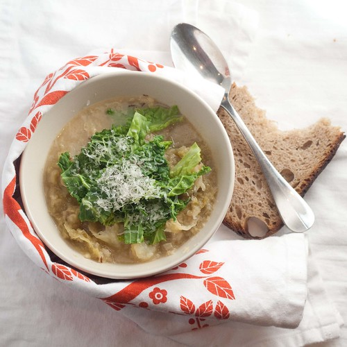 Savoy Cabbage and Parmesan Rind Soup (2 of 6)