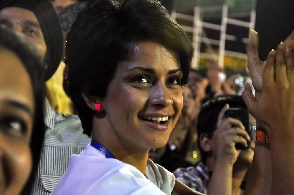 She stole my heart, I took her pic - Gul Panag