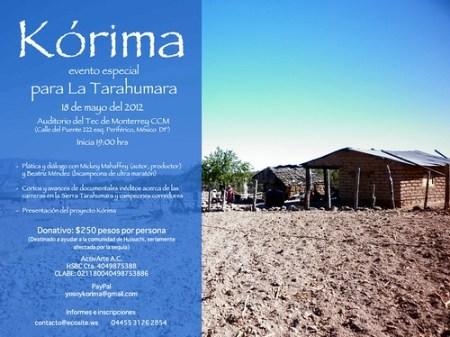 Proyecto Kórima - Ayuda a los Tarahumaras
