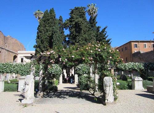 gardens of the national museum of rome