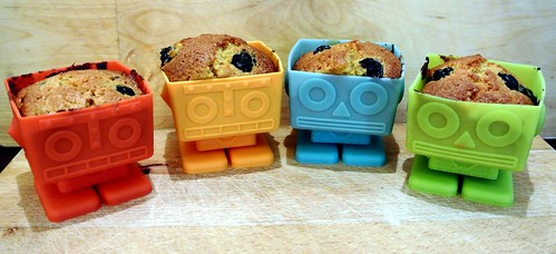 Robot cakes - 5th June 2012 - Day 6