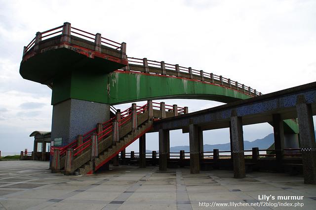 水尾員潭溪景觀橋,雖然有點舊,可是一定要上去,風景很好。