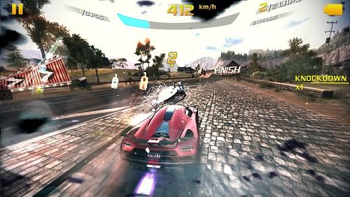 เกม Asphalt 8: Airborne บน iPhone 5s