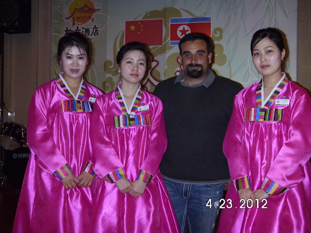Dandong North Korean State Restaurant Waitresses