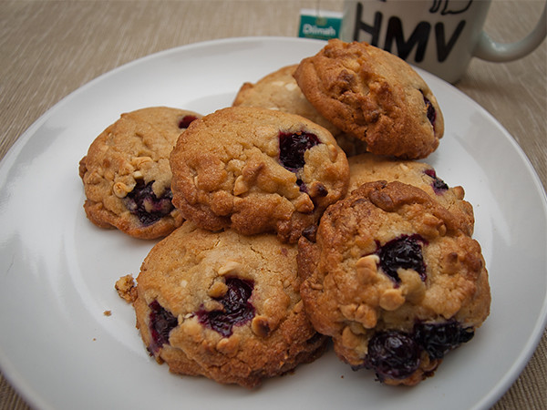 Blueberry cookies for tea