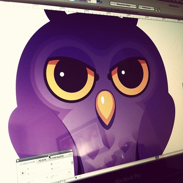 Owlie #wip #doodlism