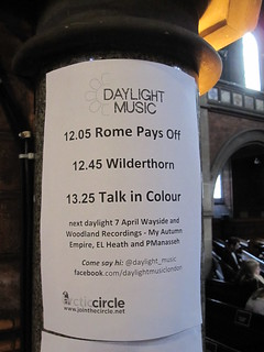 Daylight Music 31st March