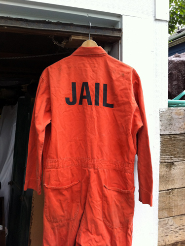 Jail jumpsuit