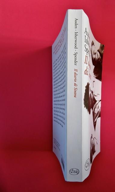 Auden, Isherwood, Spender, Il diario di Sintra; a cura di Matthew Spender e Luca Scarlini. In cop.: W.H.Auden, S. Spender, C. Isherwood, 1929. [resp. grafica non indicata]. Quarta, dorso, cop. (part.)