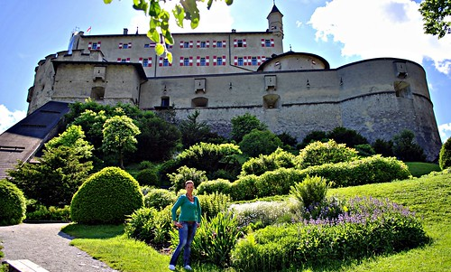 Marion  at Schloss Hohenwerfen Austria