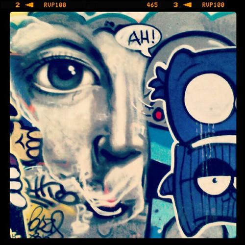 graffiti em Ipanema by Marcelo Ment e cia.
