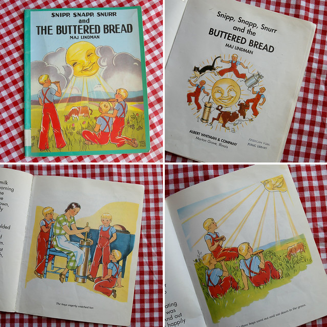 Snipp Snapp Snurr book