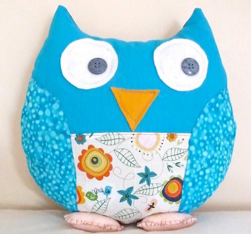 Obie Owl by Samantha Halliwell