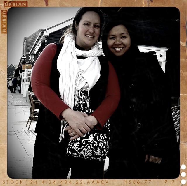 Tracy and I