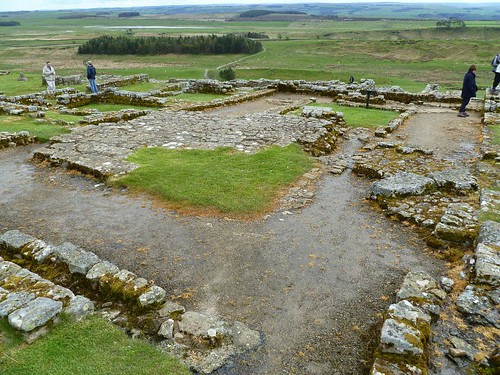 The hospital at Housesteads