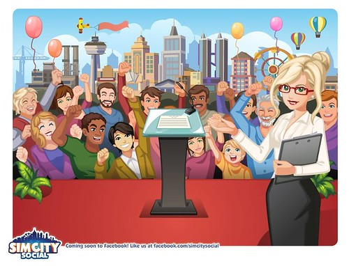 New SimCity Social Render Thing