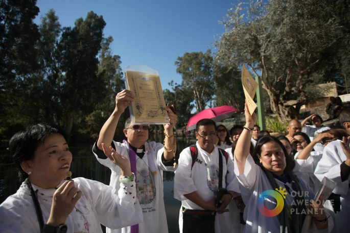 Day 3- Renewal of Baptism Vows at Jordan River - Our Awesome Planet-136.jpg