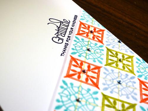Gratitude Pattern - Close Up