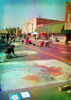 Chalk it up! Art Festival, Broken Arrow, OK