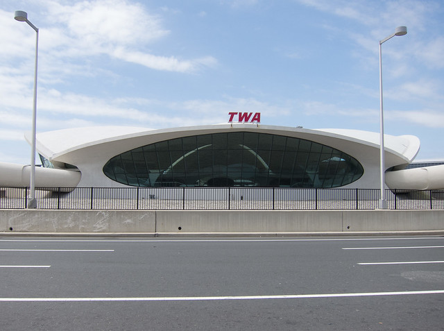 The old TWA terminal at JFK