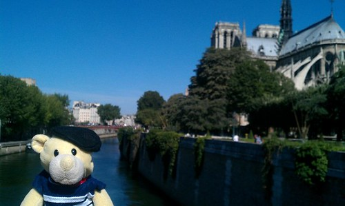 At Notre Dame de Paris