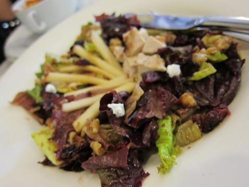 cranberry, apple & chicken salad