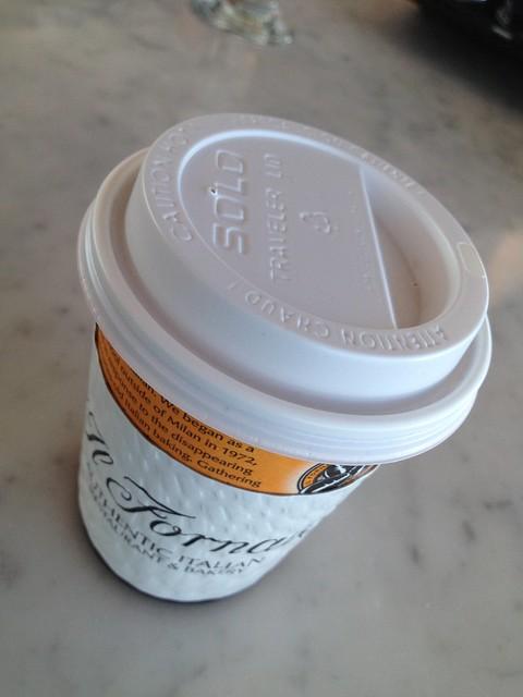Small coffee - Il Fornaio Caffe Del Mondo