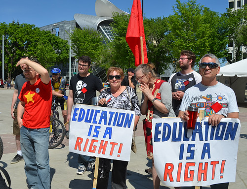 Pro-Democracy/Quebec Student Solidarity Rally