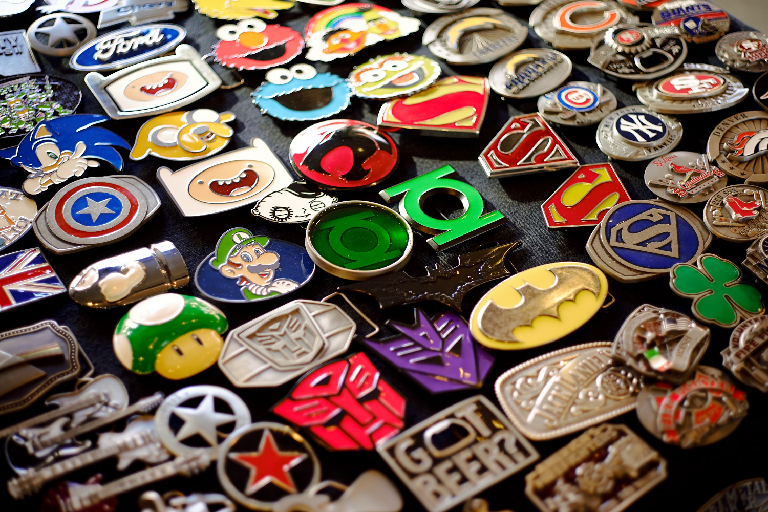 Belt buckles.. Give me some super power!