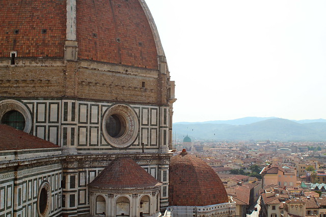 Friday: Looking past the Duomo