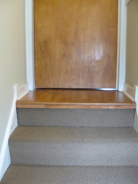 Stairwell after remodel