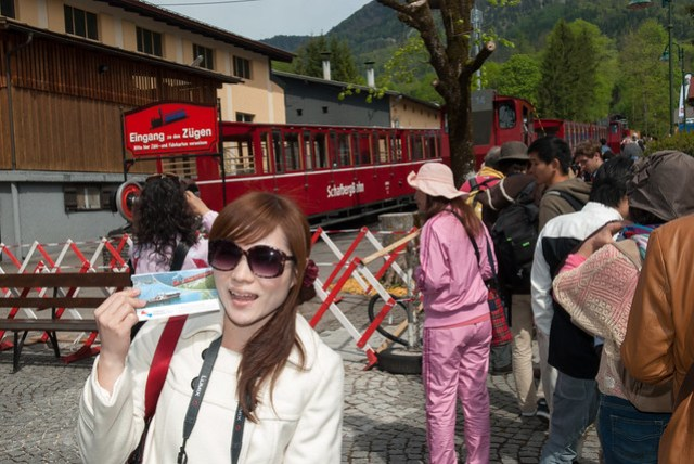 蜜月 D6 - St. Wolfgang - Schafberg 登山火車 3