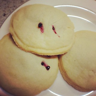 Vampire Cookies (in honor of the new season of #trueblood starting tomorrow!)