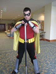 Mike as Robin