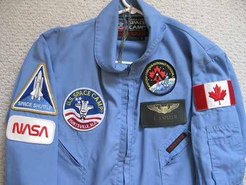 Space Camp flight suit differences and details... - The ...