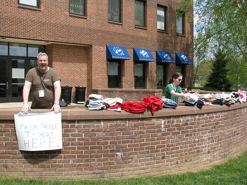 Fair Trade T-shirt Exchange - Day 2