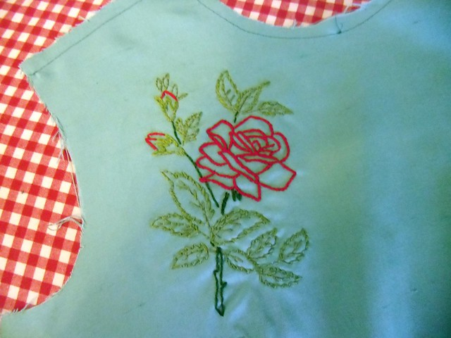 Silk Shell Top - embroidery