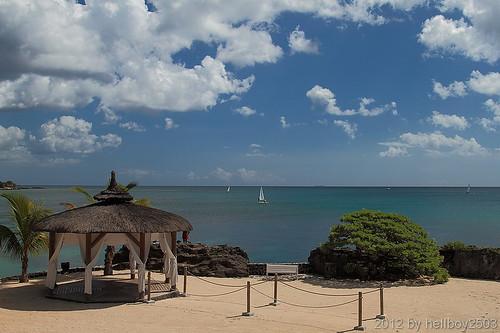 Hochzeits-Pavillon Turtle Bay, Balaclava - Mauritius by hellboy2503