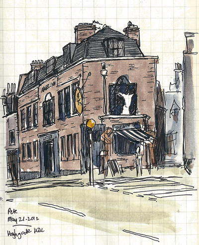 angel inn highgate