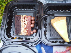 Doorstop cake. Lemon Tart. The Singapore Repertory Theatre's Twelfth Night (Shakespeare in the Park), Fort Canning