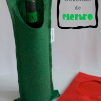 Tutorial 5: Porta-botellas de fieltro y ¡sorteo!