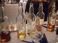 Blind Tasting Station. Whisky Live Singapore 2012, St. Regis Hotel