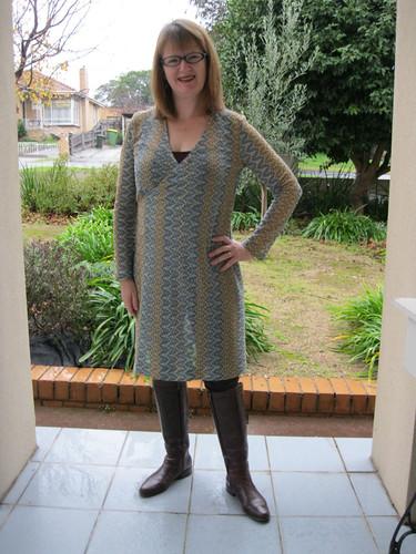StyleARC Slip-on Suzie dress