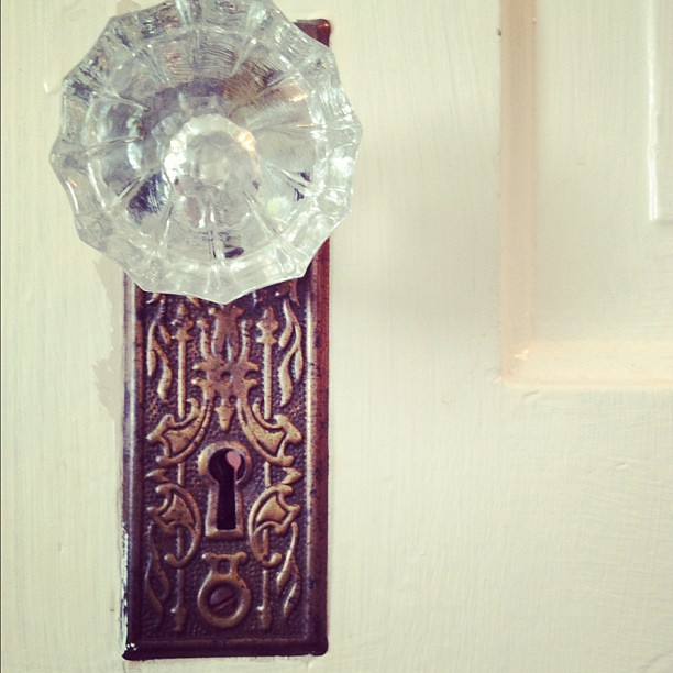 Aren't my door handles pretty?