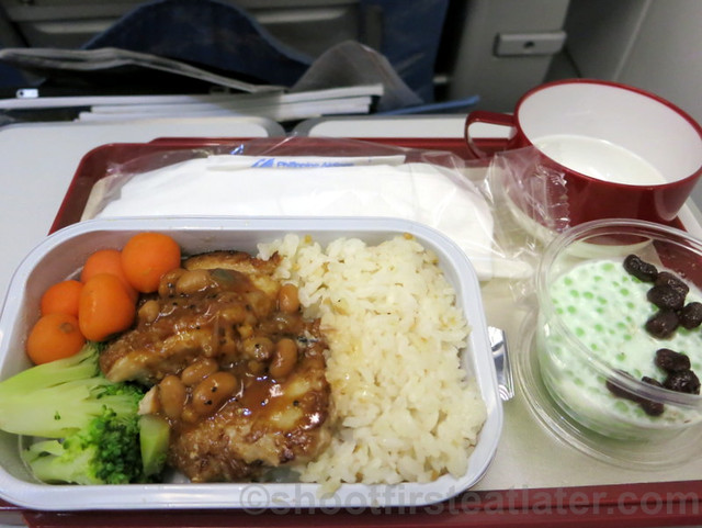 Philippine Airlines Economy Meal Mnl-Tpe-Mnl-006