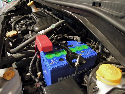 Panasonic® Blue Battery caos 55B19L