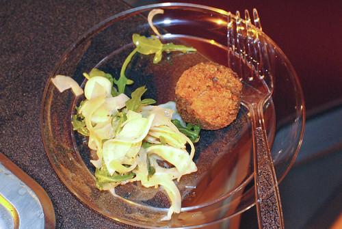 Carnevino/B&B/Pizzeria Otto crispy pork trotter, fennel salad, apricot vinaigrette
