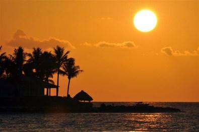 Puesta de Sol desde el Sunset Pier