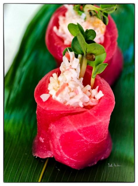 King Crab Stuffed Tuna  Kamehachi